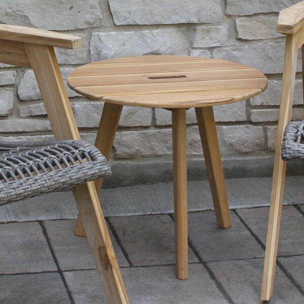 Largent Teak Side Table by Mistana