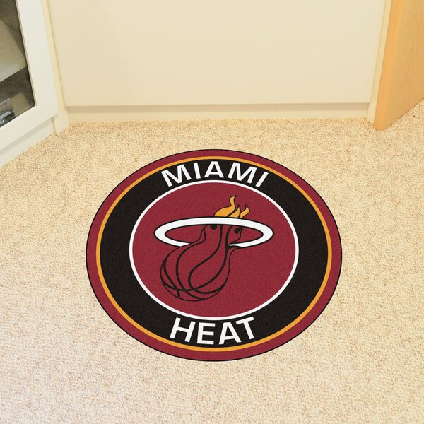 NBA Miami Heat Roundel Mat by FANMATS