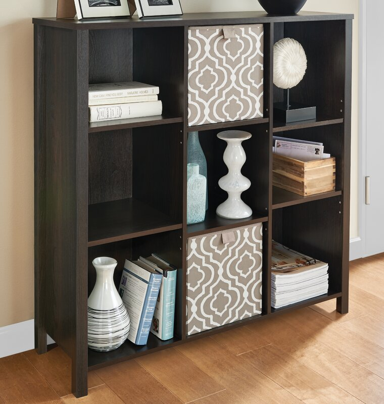 Premium Adjule 9 Cube Unit Bookcase