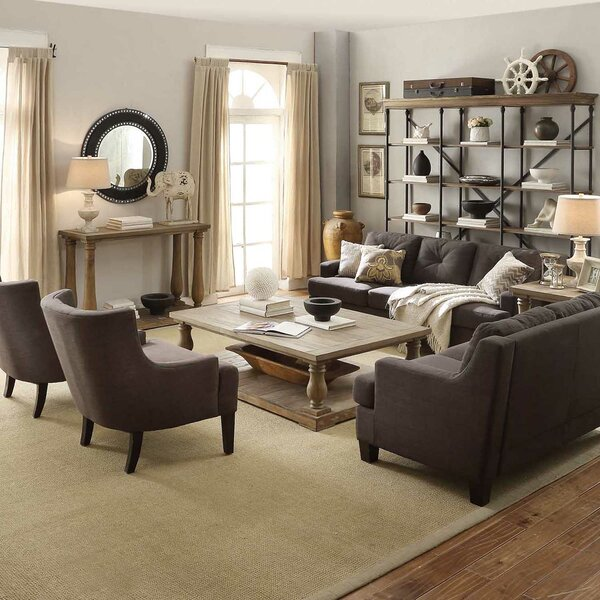 Airelle 3 Piece Coffee Table Set by Lark Manor