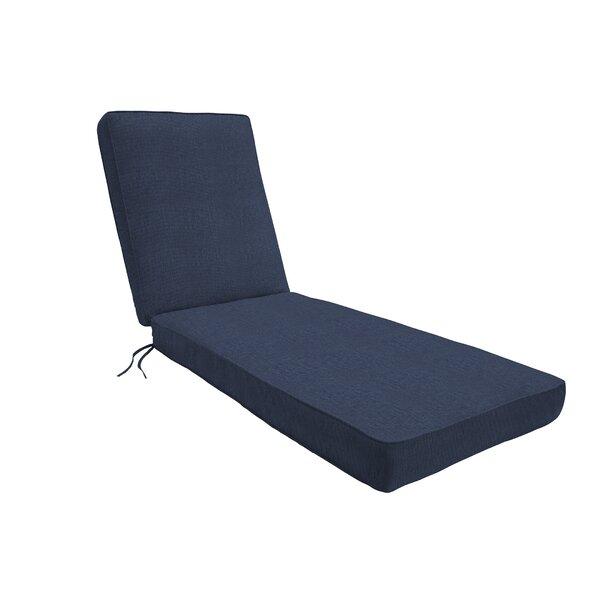 Indoor/Outdoor Sunbrella Chaise Lounge Cushion by Eddie Bauer