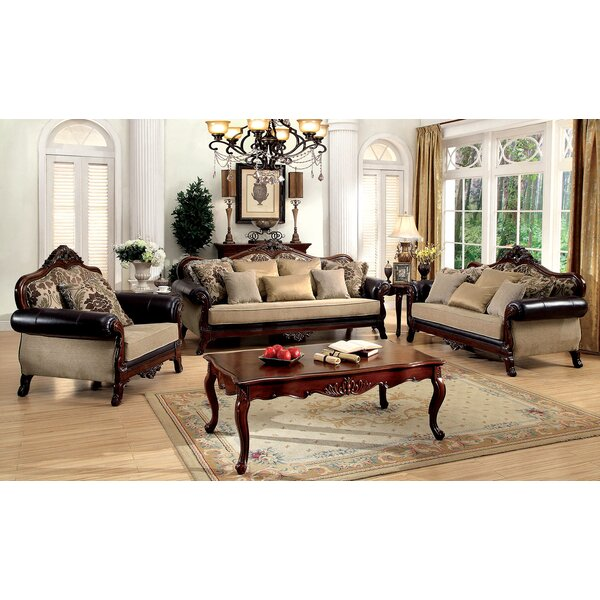 Romo 3 Piece Living Room Set by Astoria Grand