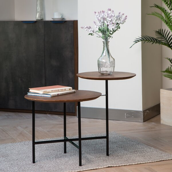 Claris End Table by Latitude Run