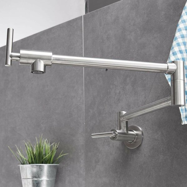 DFI Commercial Brass Pot Filler by Aquafaucet