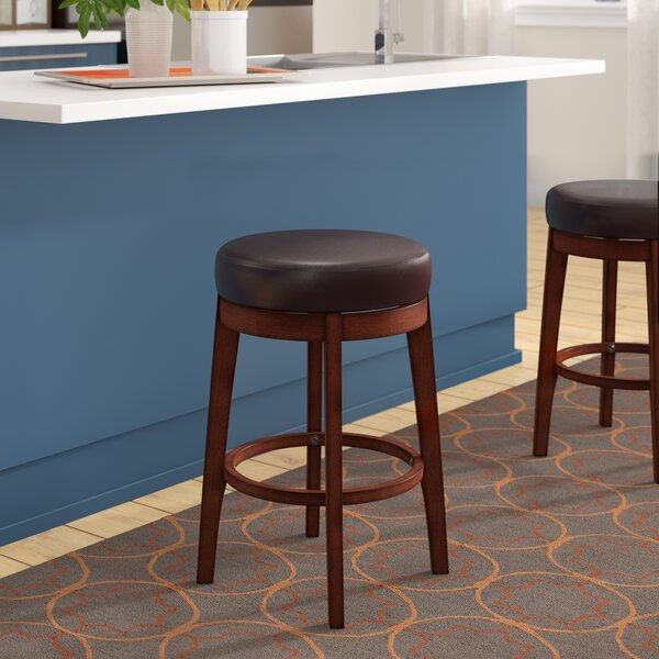 Henley 24 Swivel Bar Stool by Latitude Run
