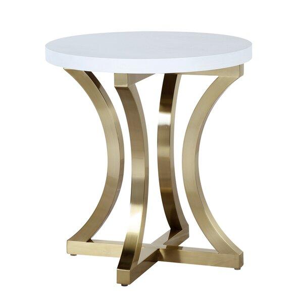 Iris End Table by Allan Copley Designs