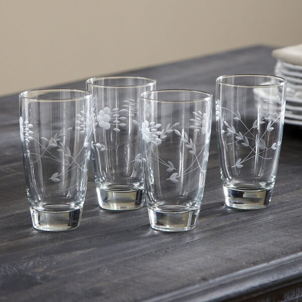 Eckhart Highball Glasses (Set of 4) by Birch Lane™