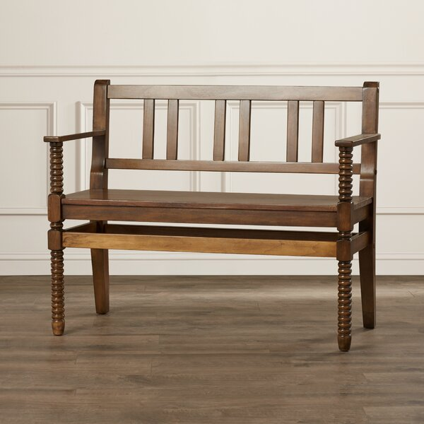 Heisler Wood Bench by Darby Home Co