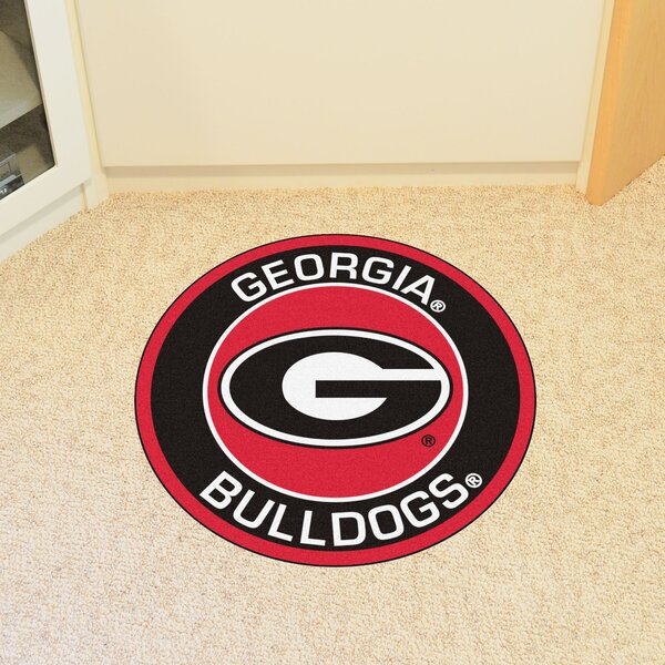 NCAA University of Georgia Roundel Mat by FANMATS
