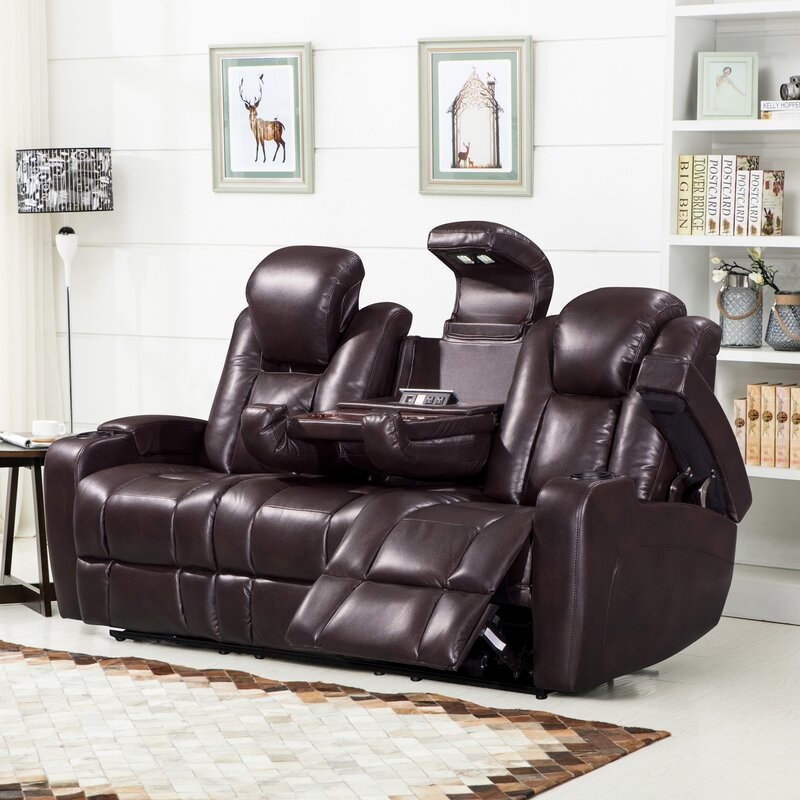 Leather Reclining Sofas Sofas Loveseats And Recliners