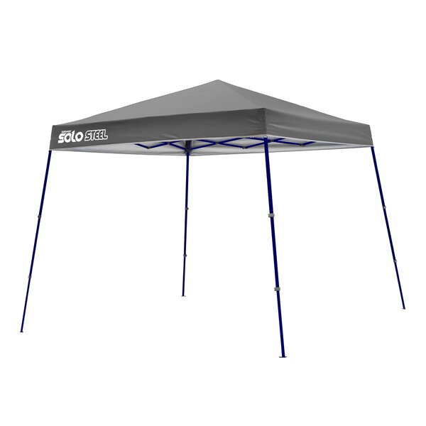 Solo 11 Ft. W x 11 Ft. D Steel Pop-Up Canopy by QuikShade