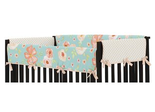 Compare & Buy Watercolor Floral 2 Piece Crib Rail Guard Cover Set BySweet Jojo Designs