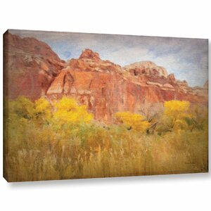 Southwest Splendor Painting Print on Wrapped Canvas by Charlton Home