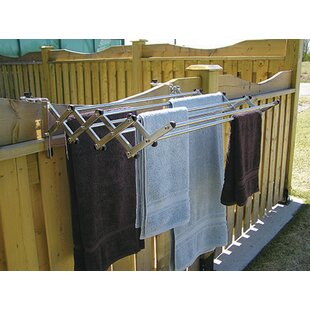 Greenway Indoor Outdoor Expandable Drying Rack