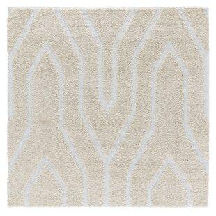 Reviews Artz Soft Beige/White Area Rug ByBrayden Studio