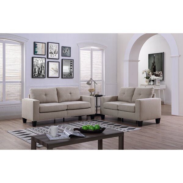 Ariyah 2 Piece Living Room Set by Winston Porter