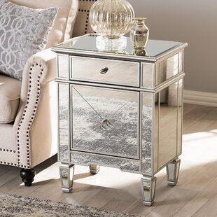 hollywood regency mirrored furniture. Beglin Hollywood Regency Mirrored 1 Drawer Nightstand Furniture