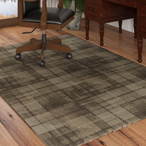 Calderon Twill Wool Natural Area Rug by Loon Peak
