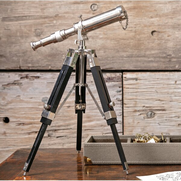 Ritchey Tabletop Decorative Telescope by Charlton Home