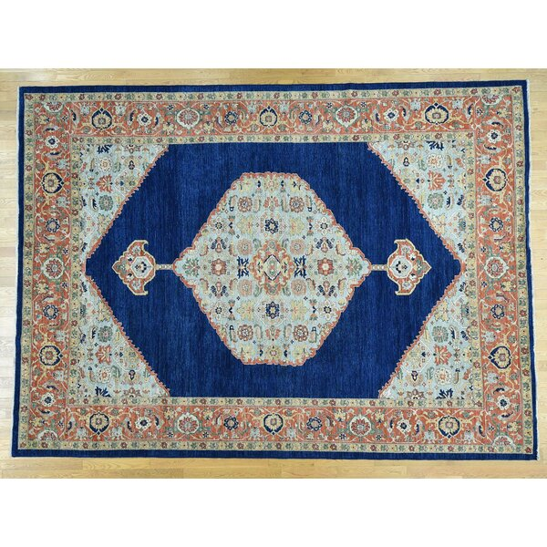 One-of-a-Kind Braeden Antiqued Bidjar Hand-Knotted Wool Area Rug by Isabelline