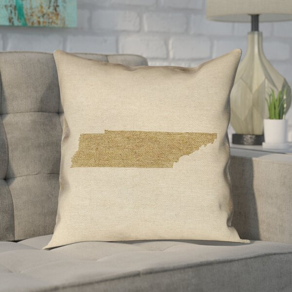 Chaput Tennessee Pillow in , Spun Polyester Double Sided Print/Floor Pillow