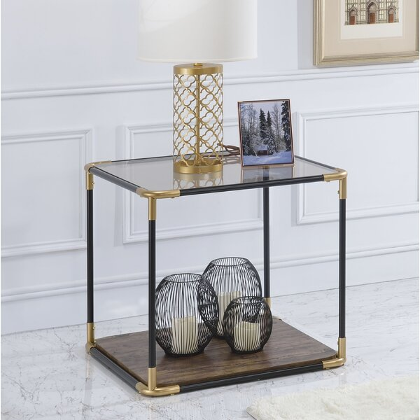 Hymes End Table by Mercer41