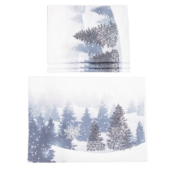 Wes Winter Wonderland Christmas 14 Placemat (Set of 4) by The Holiday Aisle