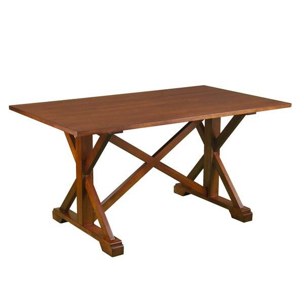 Ahlers Farmhouse Dining Table by Millwood Pines