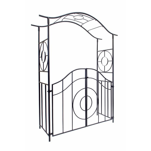 Tuscany Iron Arbor with Gate by ACHLA