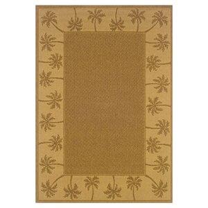 Goldenrod Tan/Beige Indoor/Outdoor Area Rug