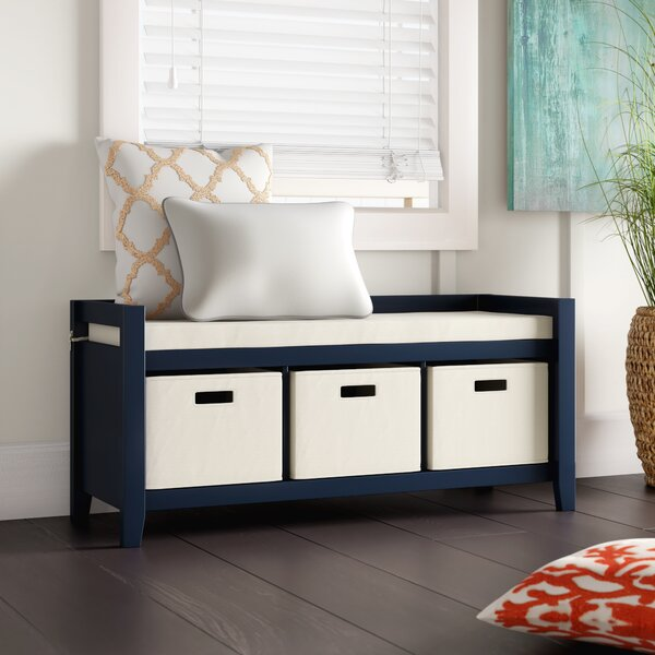 Belen Upholstered Storage Bench By Breakwater Bay Wonderful