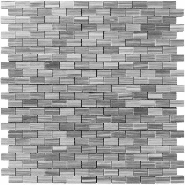 1 x 2 Marble Brick Joint Mosaic Wall & Floor Tile