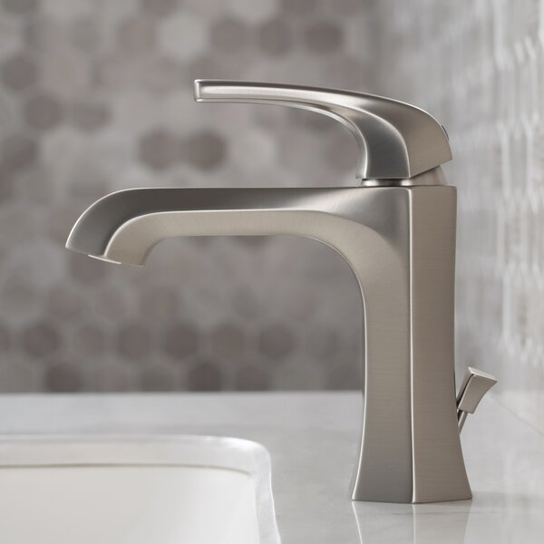 Esta Single Hole Bathroom Faucet with Drain Assembly by Kraus Kraus