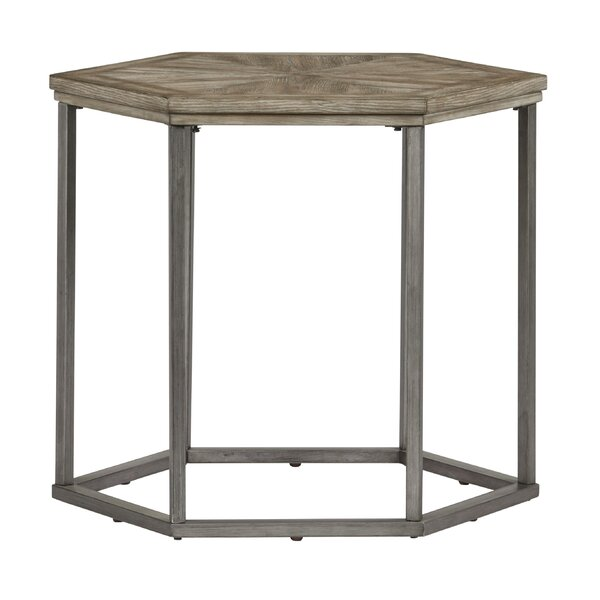 Schumaker End Table by Gracie Oaks