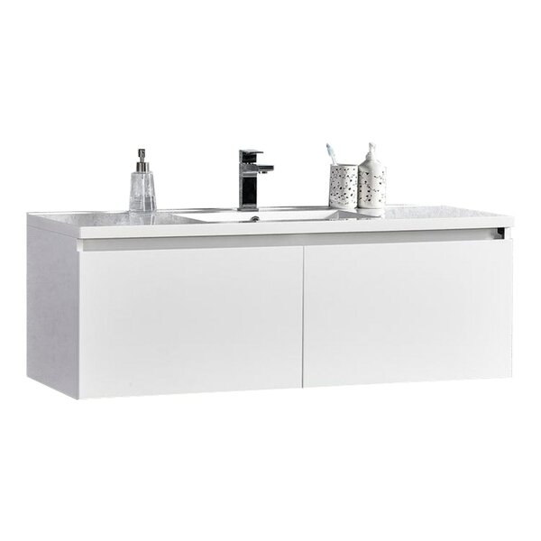 Peguero 47 Single Sink Bathroom Vanity Set by Orren Ellis