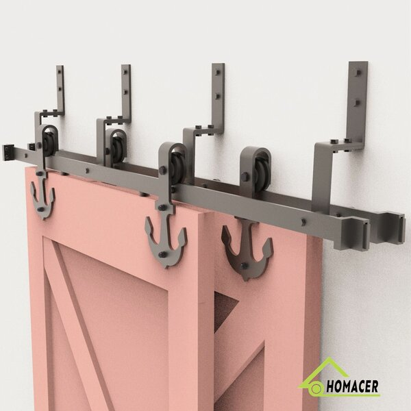 Anchor Barn Door Hardware by Homacer