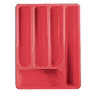 Reviews Latina Acrylic Cutlery Tray 2 H x 15.5 W x 11.75 D Drawer Organizer By Guzzini
