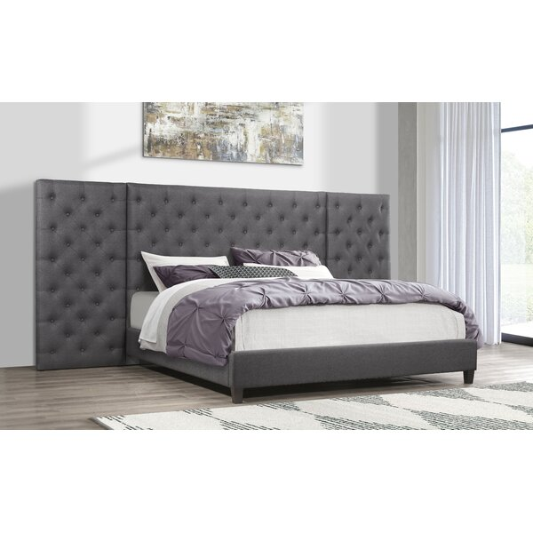 Farrington Upholstered Standard Bed by Everly Quinn
