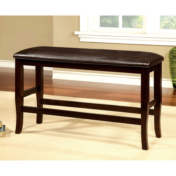 Marcina Counter Height Bench by Charlton Home Charlton Home