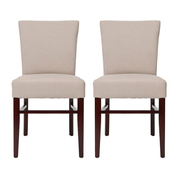 Gamache Upholstered Dining Chair (Set of 2) by Charlton Home Charlton Home