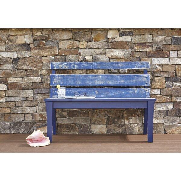 Jarrett Bay Pine Garden Bench by Uwharrie Chair