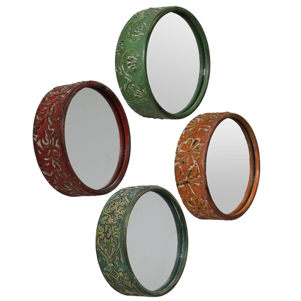 4 Piece Mystical Mirror Set (Set of 4) by Selectives