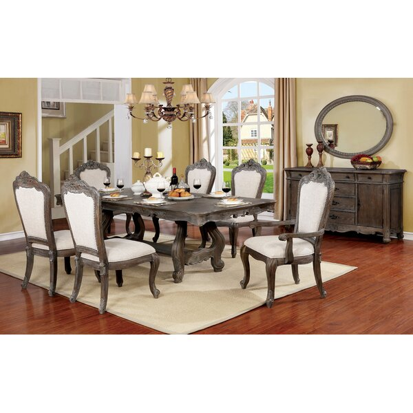 Stallworth 7 Piece Drop Leaf Dining Set by Astoria Grand
