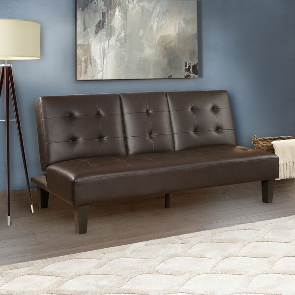 Readington Convertible Sofa by Wade Logan