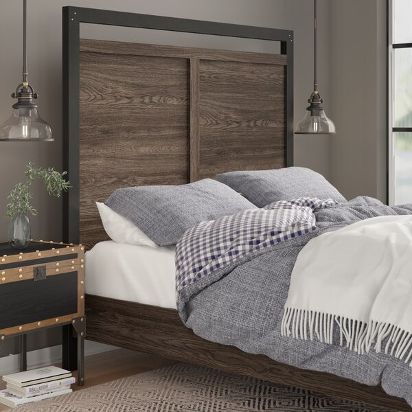 Bartow Panel Headboard by Three Posts