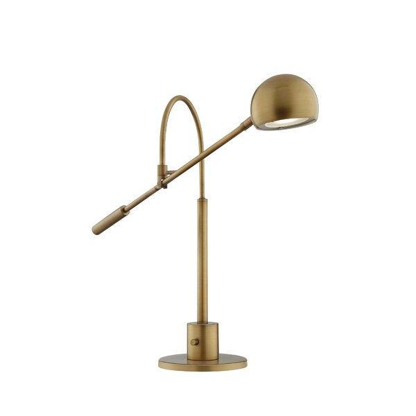 Faucette 25 Desk Lamp by Breakwater Bay