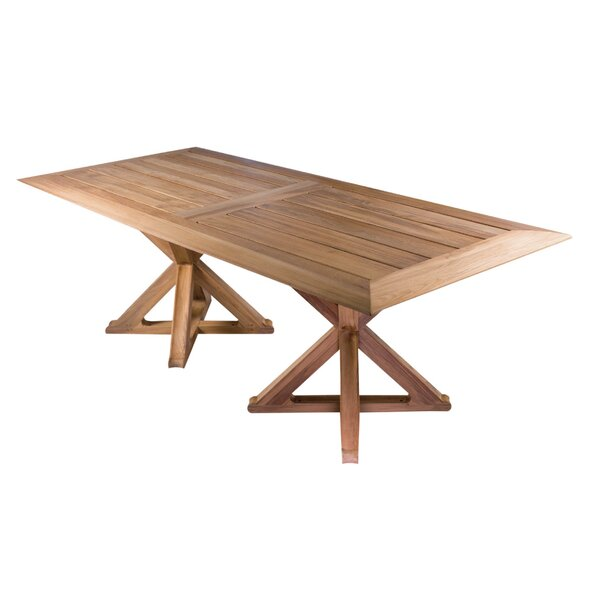Limited 4 Outdoor Teak Dining Table by OASIQ