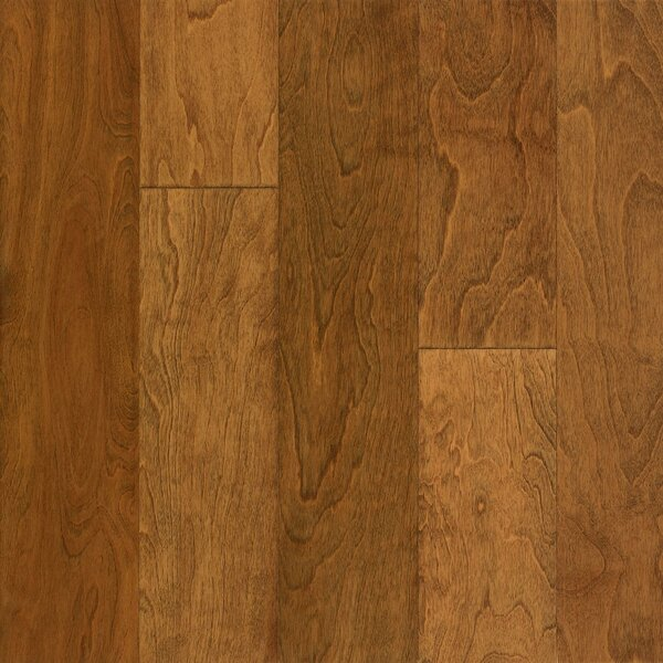 Frontier 5 Engineered Birch Hardwood Flooring in Golden Blonde by Armstrong Flooring