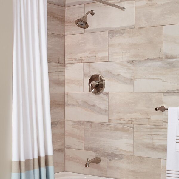 Fluent Flowise Pressure Balance Bath/Shower Trim By American Standard