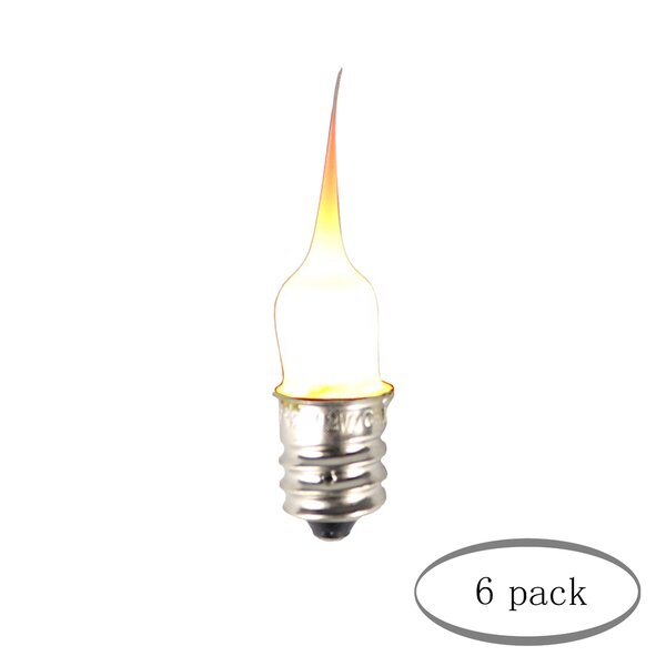 6W E12/Candelabra Incandescent Light Bulb (Set of 6) by Urbanest